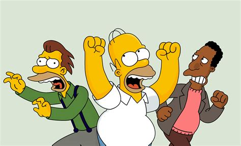 Homer, Lenny And Carl Vector By Catfan180 On Deviantart