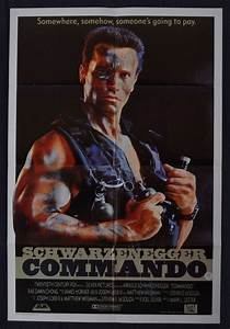 All About Movies - Commando movie poster Original One ...