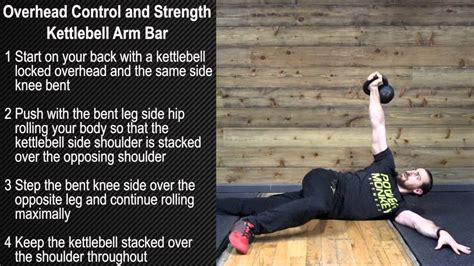 kettlebell bar arm strength