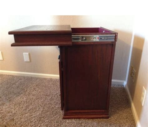 Compartment Nightstand by Secret Compartment Nightstand Stashvault