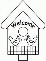 Pages Spring Coloring Birdhouse Colouring Bird Printable Welcome Activities Popular Icbn Advertisement Coloringhome Printing Instructions sketch template
