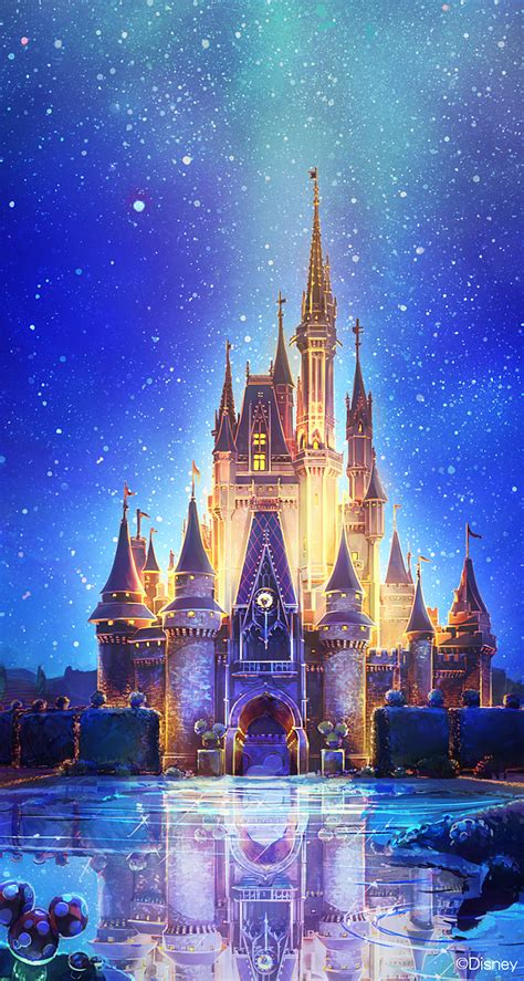 Background Disney World Iphone Wallpaper by Cinderella Castle More Disney Iphone Wallpapers