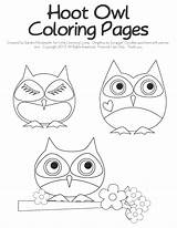 Coloring Owl Owls Tootsie Littlelearninglovies Pop Learning Template Sheet Sheets Shapes sketch template