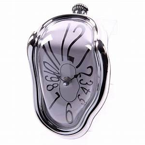 Melting Clock With Silver Frame 7818 Puckator Ltd