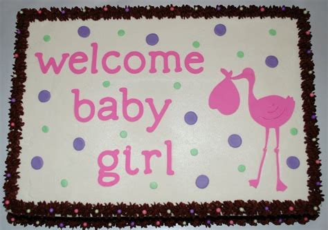 baby girl shower cakes baby shower sheet cake decorations living room decorating