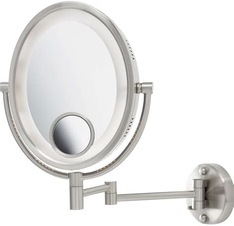 magnifying mirror 15x lighted lighted magnifying mirror 15x home design ideas