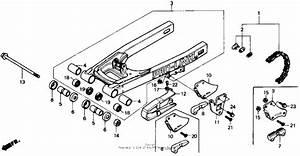 Swingarm For 1987 Honda Cr80