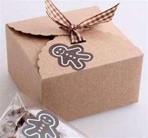 Petite Boite En Carton : kraft petite boite d co boites sachets boites d co la paqueterie ~ Teatrodelosmanantiales.com Idées de Décoration