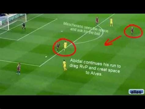 barcelona   ball movements youtube