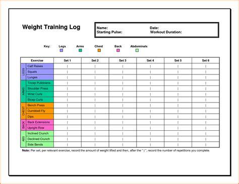 excel work log template 5 workout log excel divorce document