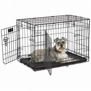 midwest 30quot contour double door wire crate maddies online With midwest dog crates
