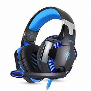 Gutes Ps4 Headset : headset gaming pc easysmx g2000 stereo gaming headset f r ~ Jslefanu.com Haus und Dekorationen