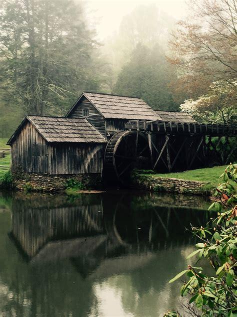 historic mabry mill blue ridge parkway milepost