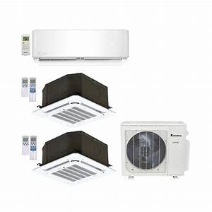 Ceiling Mounted Ductless Heat Pumps