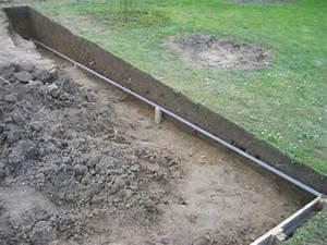 Dalle De Jardin Beton : comment r aliser un coffrage avant le coulage du b ton terrasse en bois ~ Melissatoandfro.com Idées de Décoration