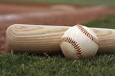 Image result for a baseball bat & ball