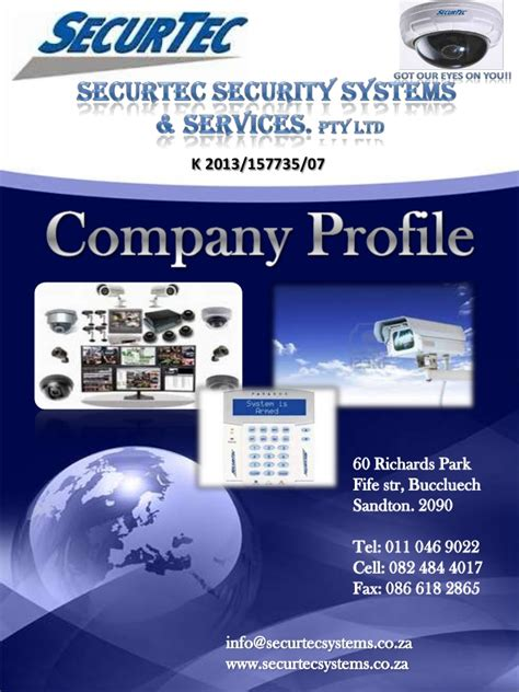 company profile securtec security systems services