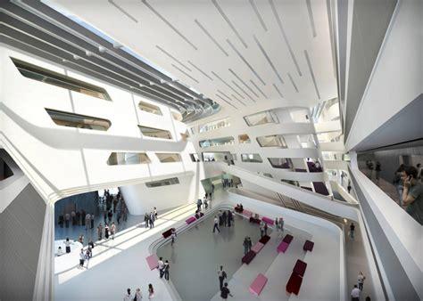Zaha Hadid Design For University Of Vienna Campus Is Underway