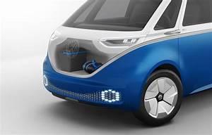 Volkswagen Bringing I D Buzz Cargo Concept To 2018 Los