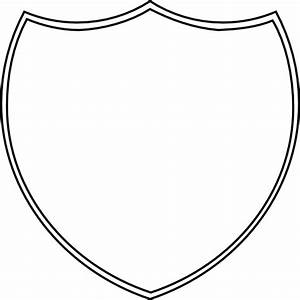 Best Photos of Shield Badge Template - Blank Shield Emblem ...