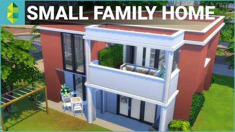 sims  house building small family home youtube