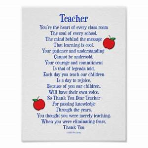 teacher poem Yahoo Search Results