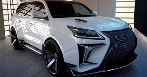 lexus lx   verge widebody kit  russia newfoxy