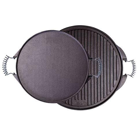 batterie cuisine lagostina plancha ronde 25cm en fonte émaillée