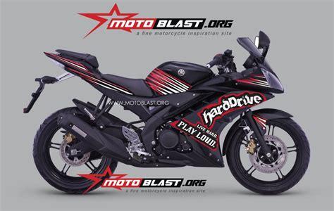 R 15 Modif by Modif Striping Yamaha R15 Black Harddrive Motoblast