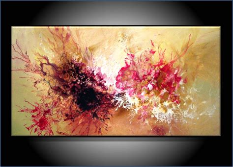 commission painting modern abstract by renaeschoeffelart
