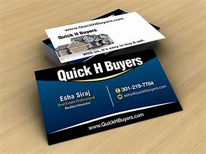 Real Estate Business Card Design for a Company by JLG ...