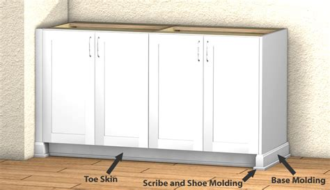 what is scribe molding for kitchen cabinets base cabinet millwork