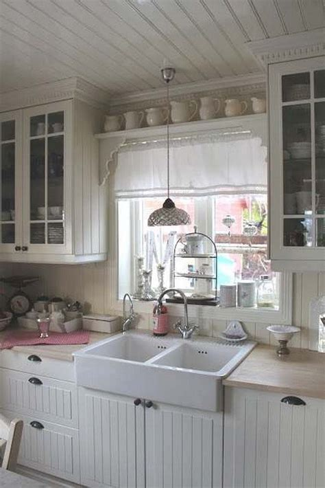 shabby chic kitchen cabinets ideas 35 awesome shabby chic kitchen designs accessories and 7905