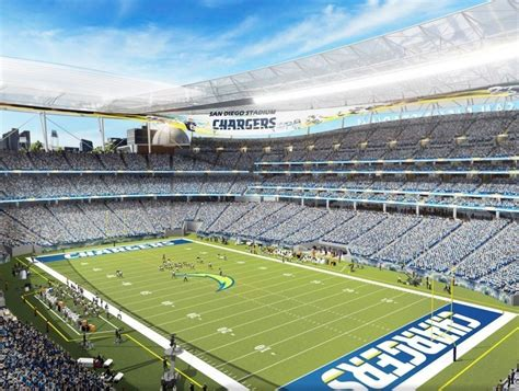 Chargers Reveal Renderings Of Proposed New Stadium