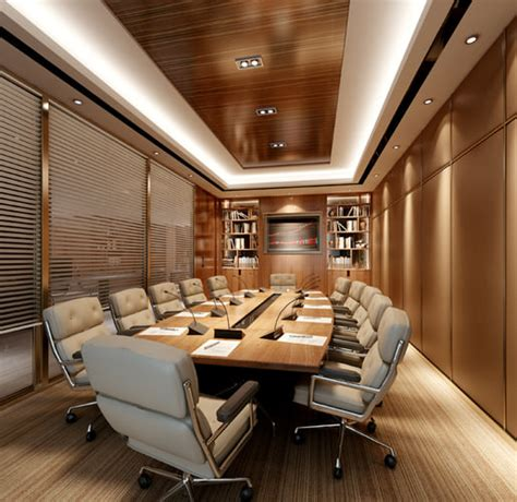 modern conference room 3d cgtrader