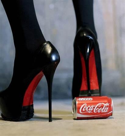 Gifs Heel Louboutin Heels Coke Gifdump Shoes
