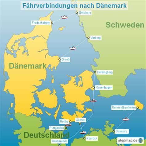 The crypto currency for germany. StepMap - Dänemark Fähren - Landkarte für Dänemark