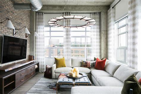 Wohnzimmer Loft Style by Loft Style Condo In Denver By Robeson Design Archiscene