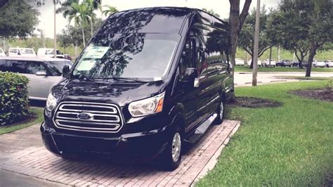 ford transit conversion luxury vans  florida  sawgrass