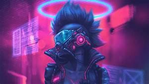 Cyberpunk, Colorful, Art, Hd, Artist, 4k, Wallpapers, Images