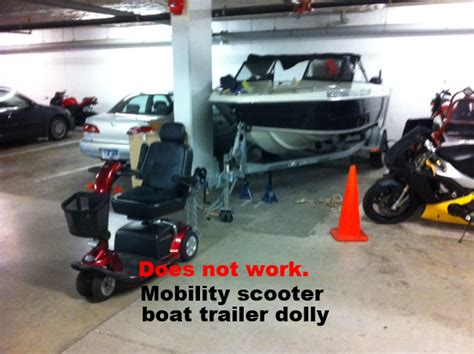 Tow Boat Mobility Scooter by Bad Idea Pride Mobility Scooter For Towing Boat