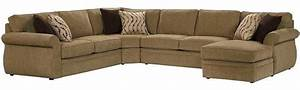 Broyhill veronica sectional with raf chaise 6170 3qset for Broyhill sectional sofa with chaise