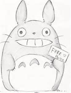 Cute Totoro Drawings