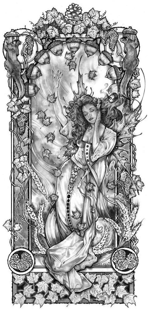 AUTUMN FAIRY signed Limited Edition Print- Unique gift