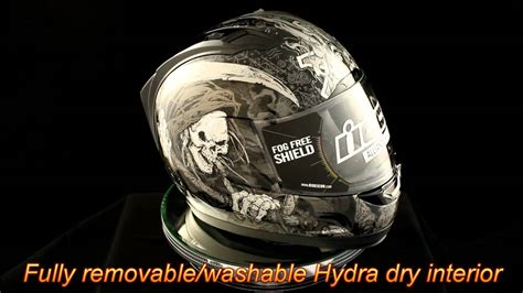 Icon Alliance Harbinger Motorcycle Helmet