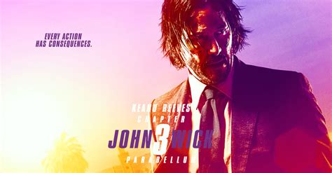 Wick John Chapter 3 Movie Poster
