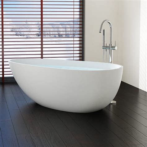 free standing bathtubs large freestanding bathtub model bw 01 xl badeloft usa