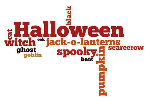 halloween wordles grandma ideas