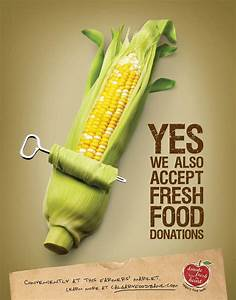 Calgary Food Bank Print Advert By Wonder: Corn | Ads of ...