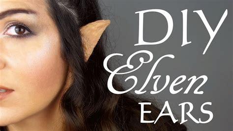 diy    elvenelf ears youtube